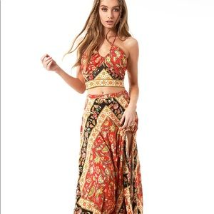 Spell and the Gypsy Lolita Campfire maxi skirt